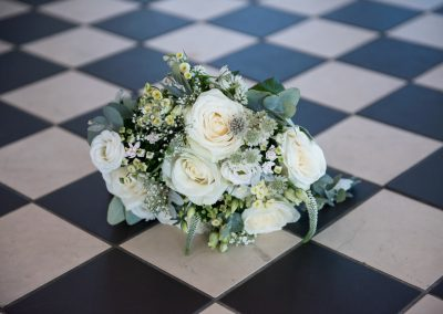 Wedding photography - Hythe beach wedding - the bouquet