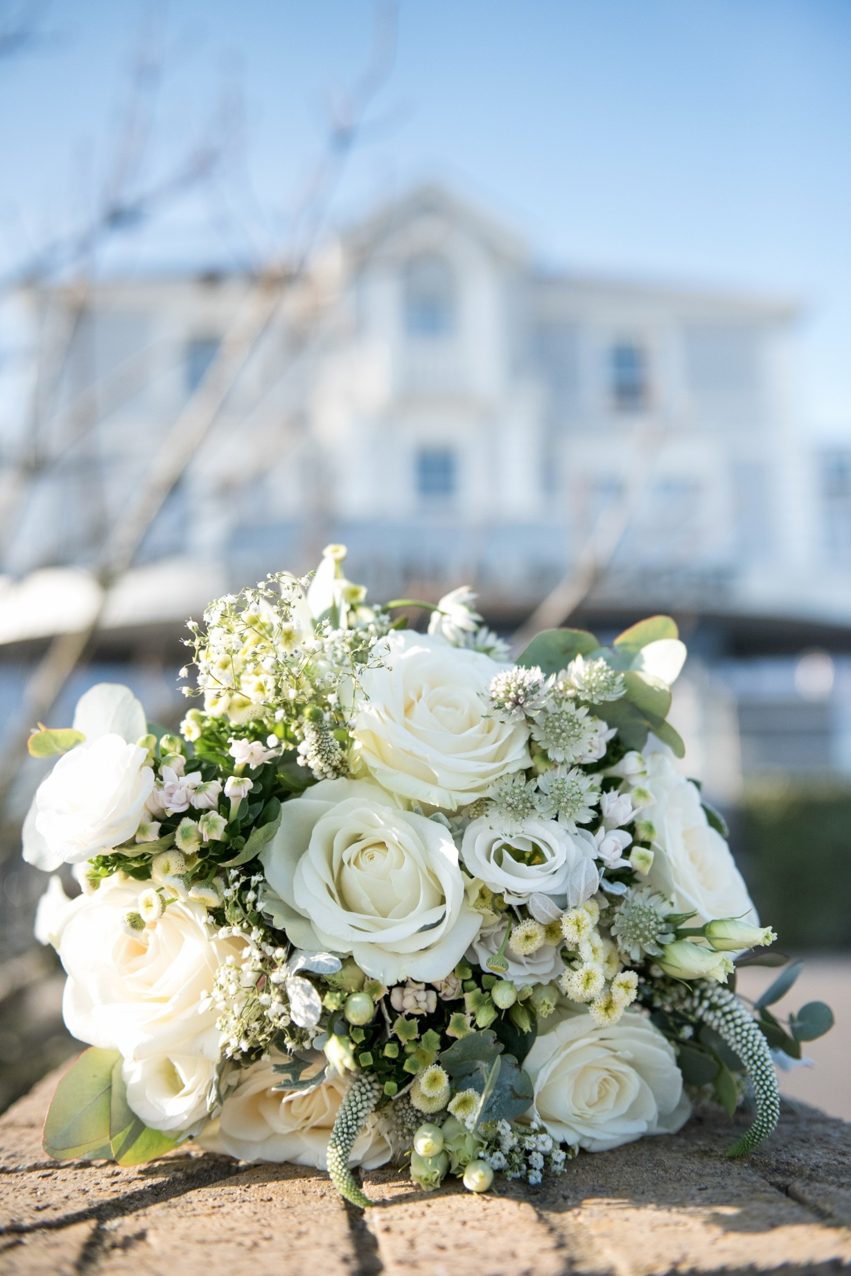 Wedding photography - Hythe beach wedding - brides bouquet