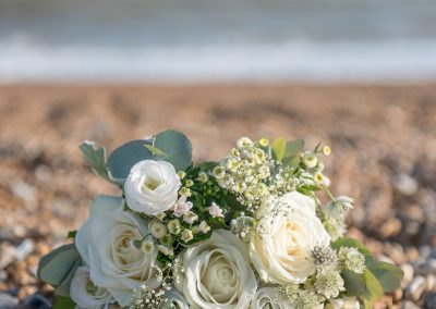 Wedding photography - Hythe beach wedding - wedding flowers