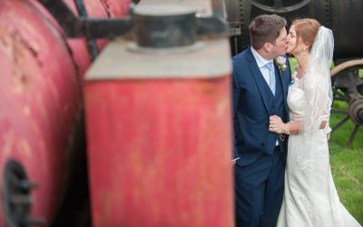Wedding photography at Preston Court in Canterbury - the bride & groom