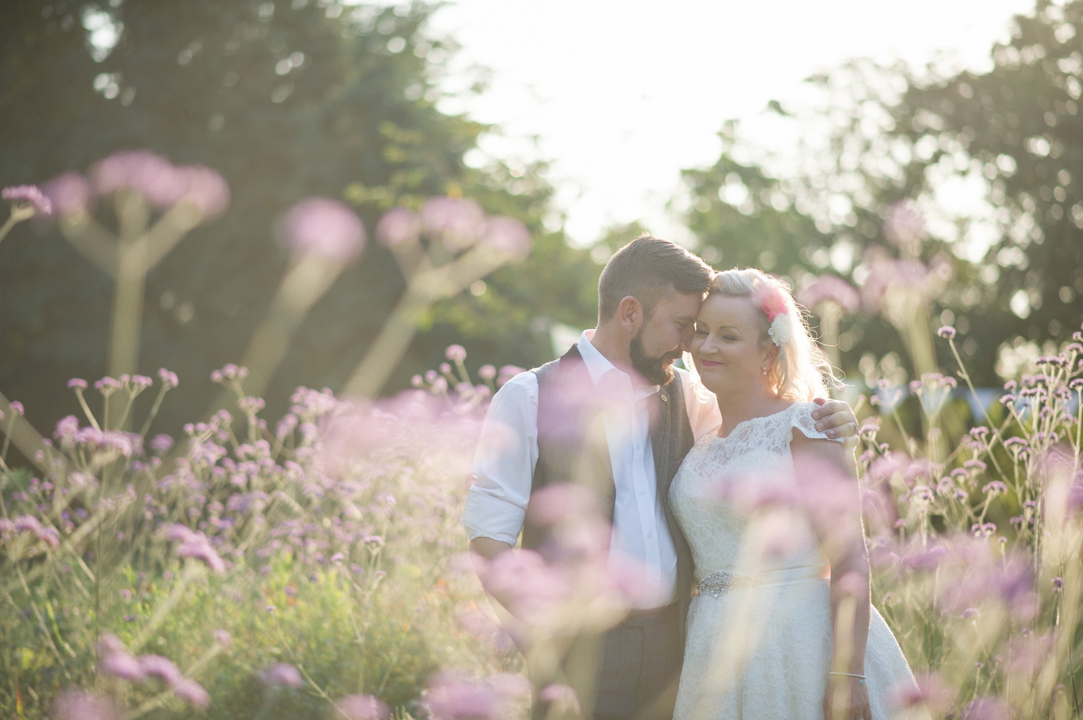 Wedding photography - rustic themed wedding at Hayne House in Saltwood, Kent - bride and groom