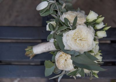 Wedding photography at Tudor Barn in Eltham - wedding bouquet