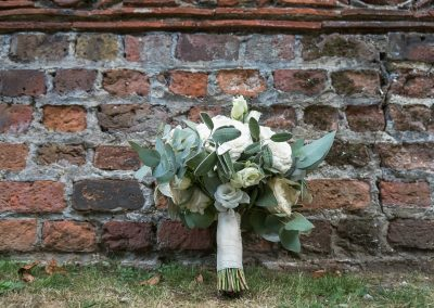Wedding photography at Tudor Barn in Eltham - wedding bouquet