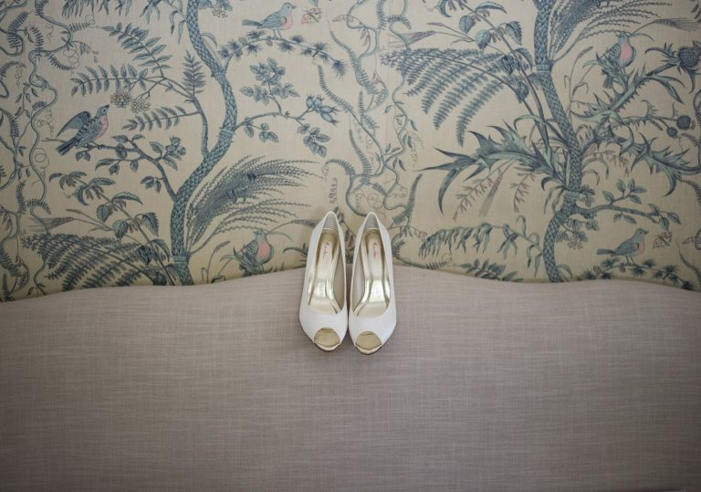 Wedding photography - wedding at Hayne house in Saltwood - the wedding shoes