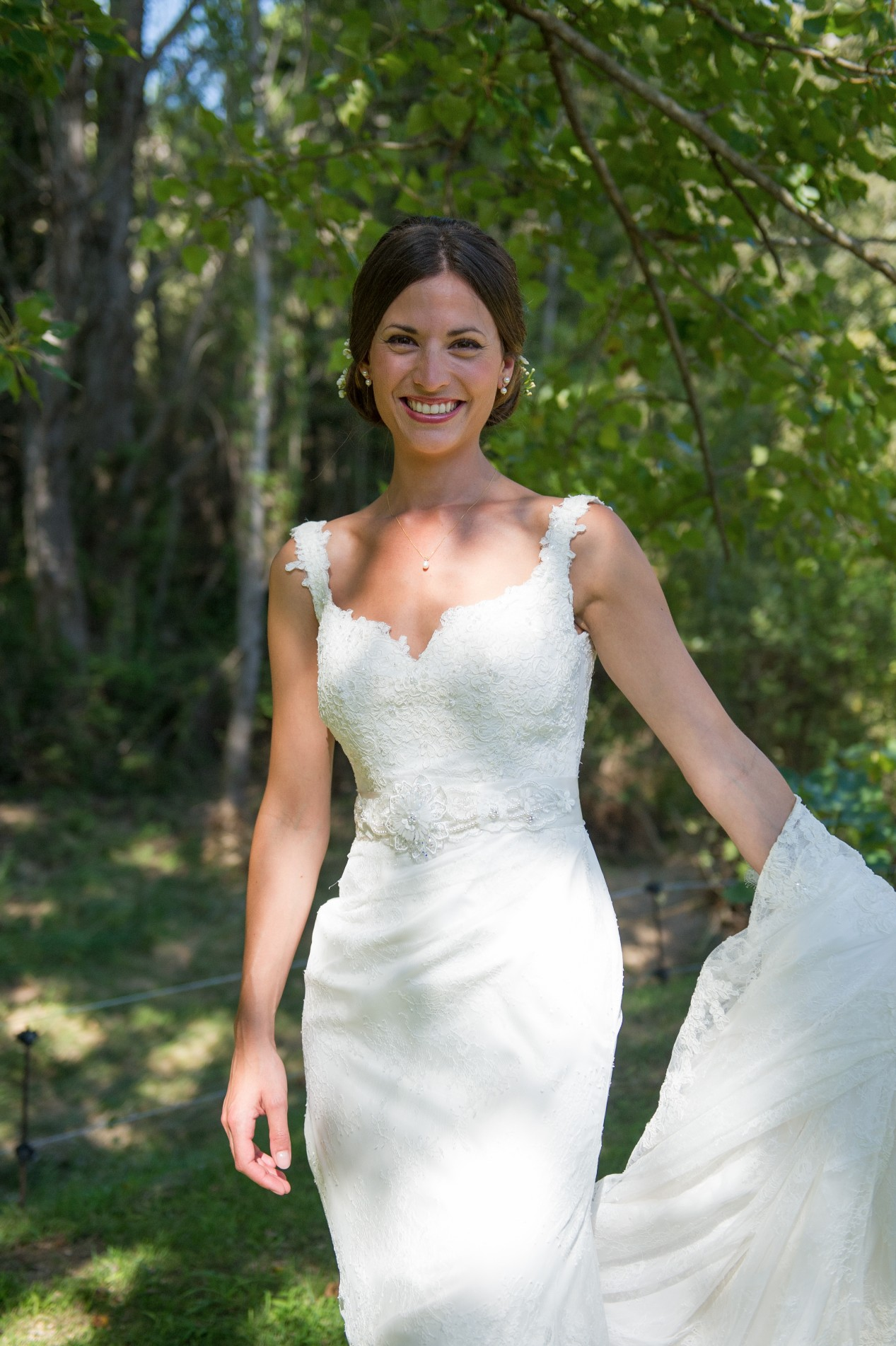 Wedding photography - South of France wedding - the bride