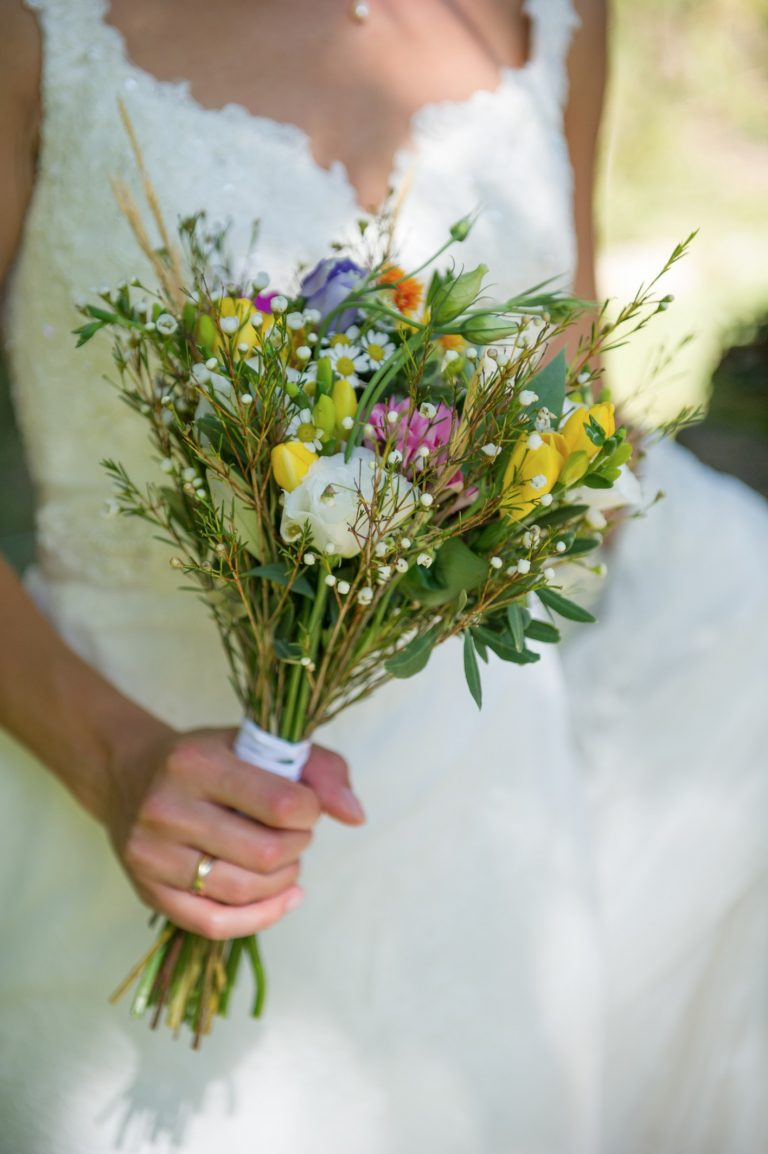 Wedding photography - South of France wedding - the bouquet