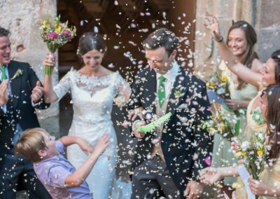 Wedding photography - South of France wedding - just married