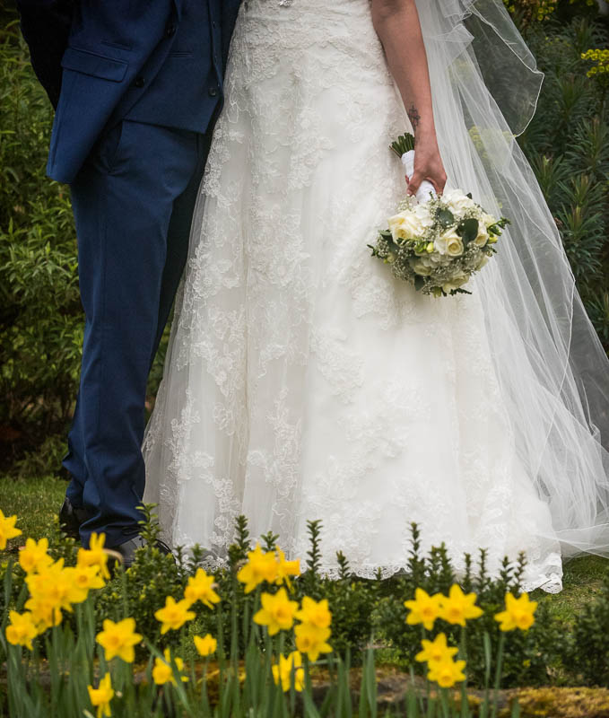 spring wedding at Hayne Barn House in Saltwood, near Hythe, Kent
