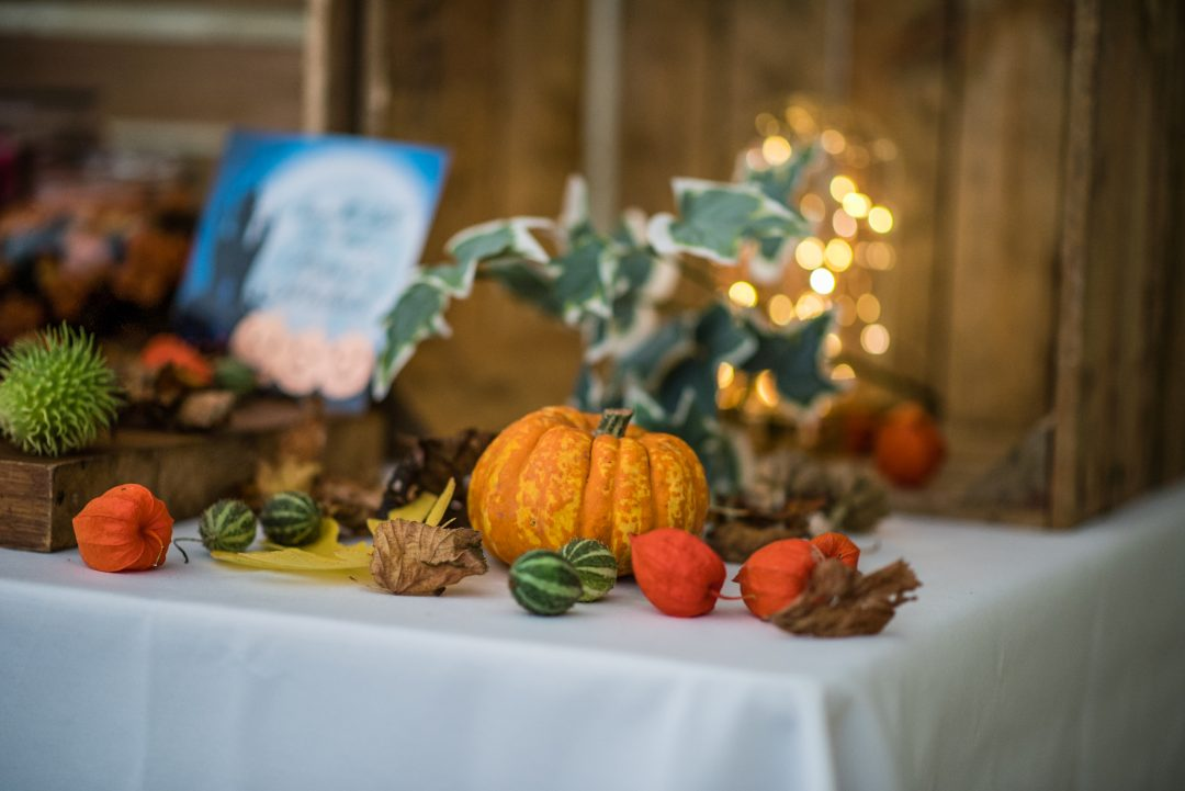 halloween wedding styled shoot