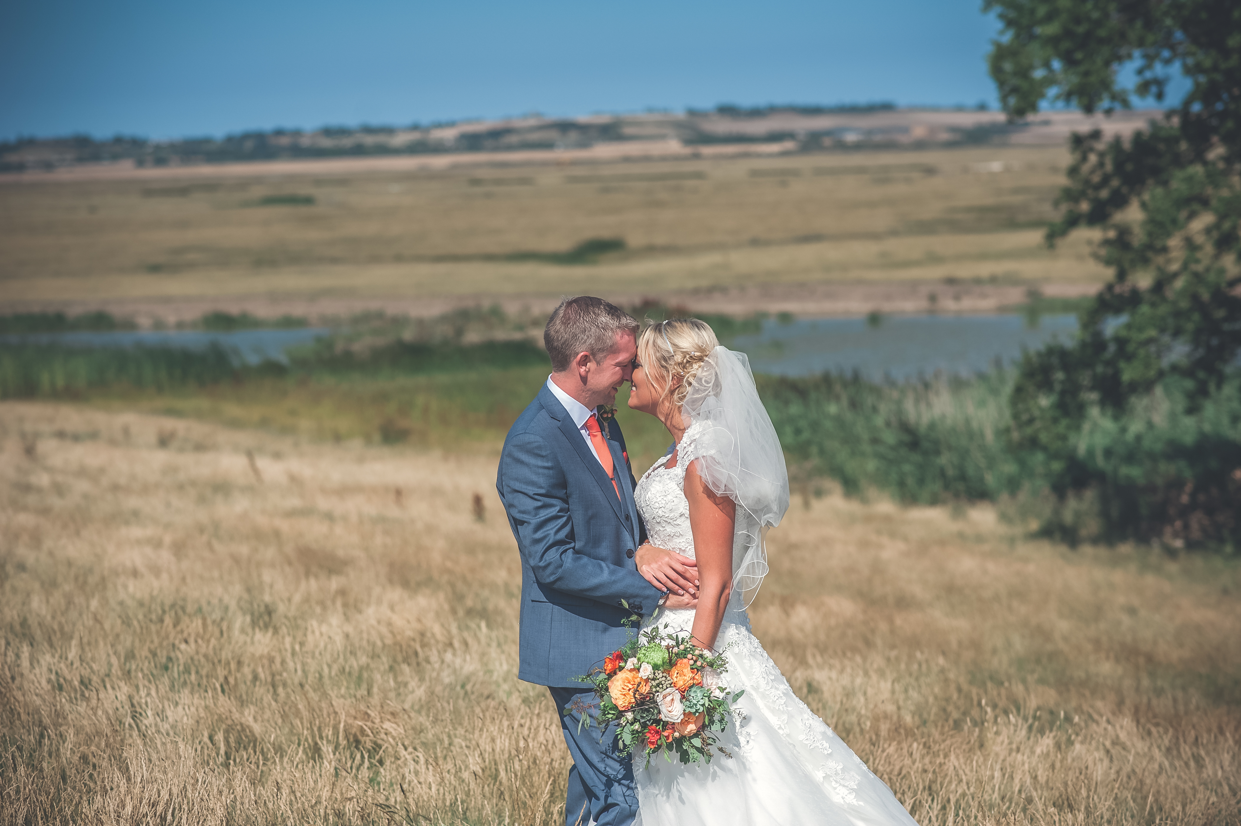 wedding photographer at Elmley Nature reserve